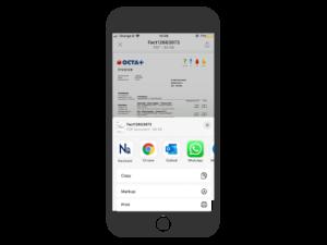 Capture invoice data via email